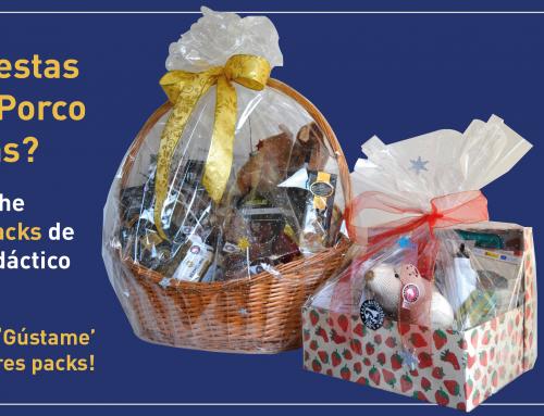 Sorteamos tres packs de cestas de Navidad que son… ¡100% Raza Autóctona Porco Celta!