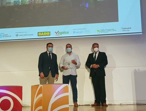 Asoporcel recibe el Premio Galicia Alimentación 2021 en la categoría de mejor proyecto empresarial